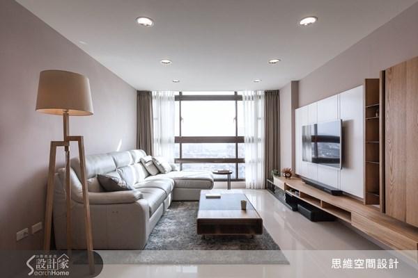 20坪新成屋(5年以下)_現代風客廳案例圖片_思維空間設計有限公司_思維_11之5