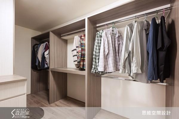 20坪新成屋(5年以下)_現代風更衣間案例圖片_思維空間設計有限公司_思維_11之19
