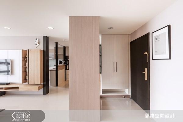 20坪新成屋(5年以下)_現代風玄關客廳走廊案例圖片_思維空間設計有限公司_思維_11之1