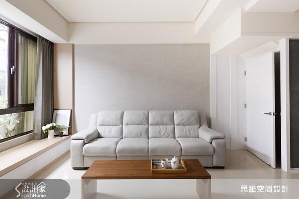 13坪新成屋(5年以下)_北歐風客廳臥榻案例圖片_思維空間設計有限公司_思維_14之5