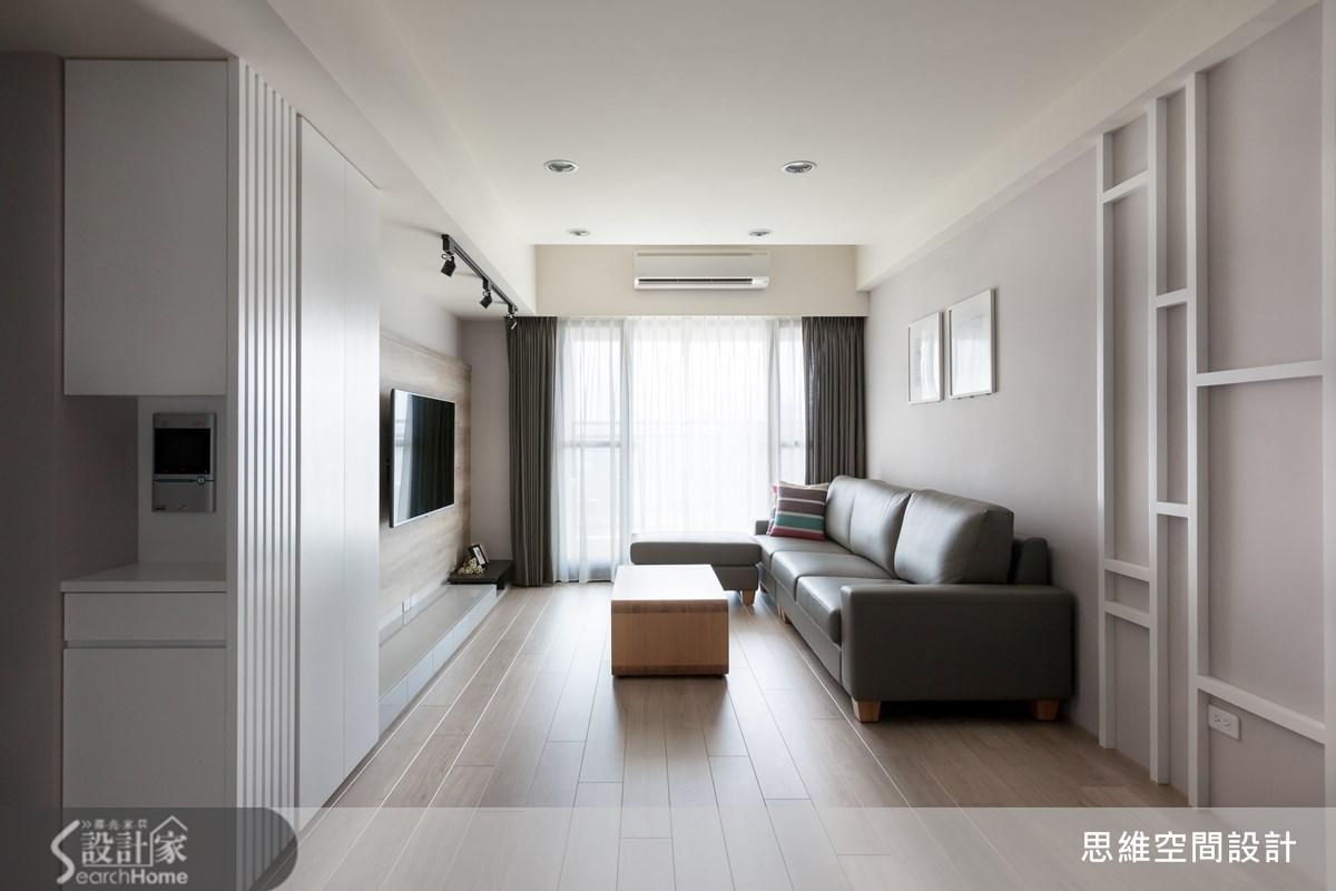 25坪新成屋(5年以下)_北歐風客廳案例圖片_思維空間設計有限公司_思維_16之1
