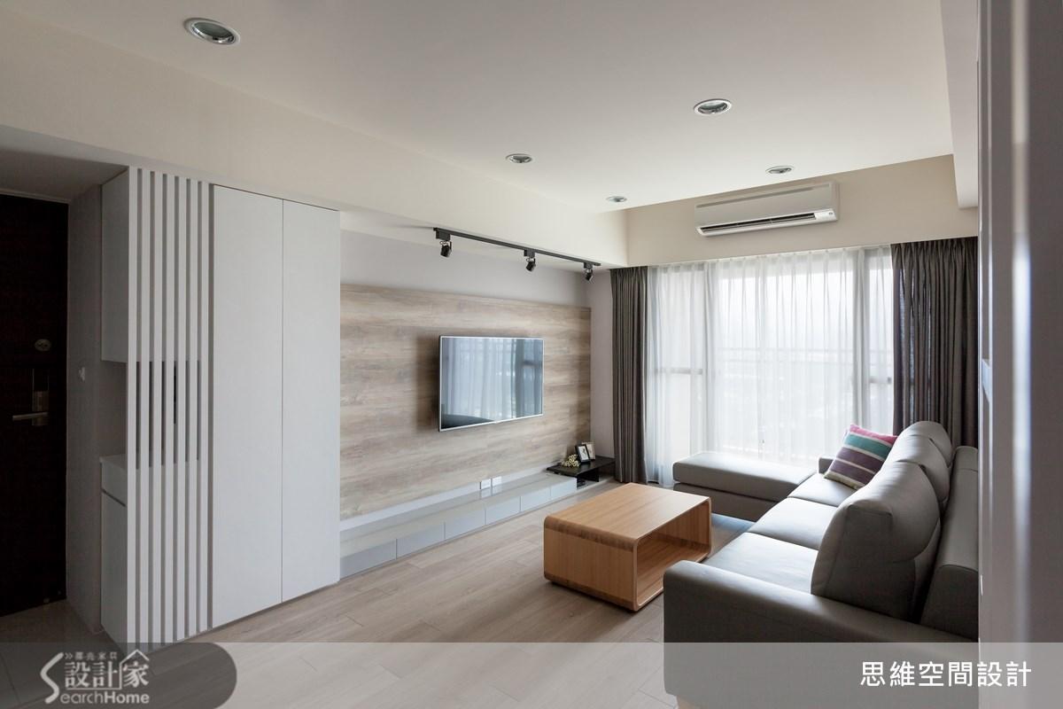 25坪新成屋(5年以下)_北歐風客廳案例圖片_思維空間設計有限公司_思維_16之2