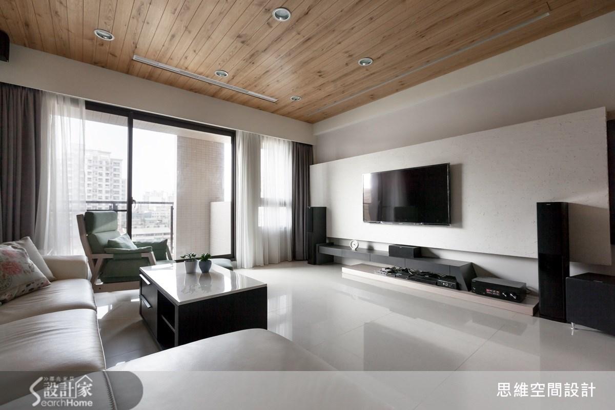 35坪新成屋(5年以下)_簡約風客廳案例圖片_思維空間設計有限公司_思維_17之2