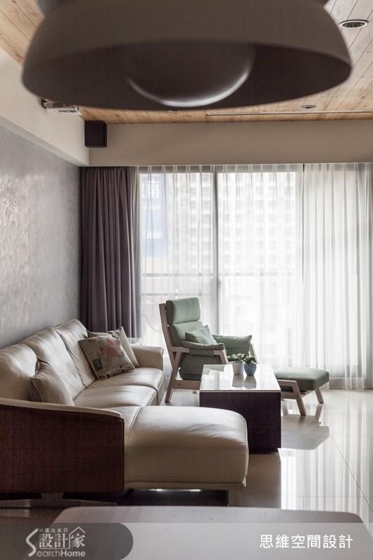 35坪新成屋(5年以下)_簡約風客廳案例圖片_思維空間設計有限公司_思維_17之3