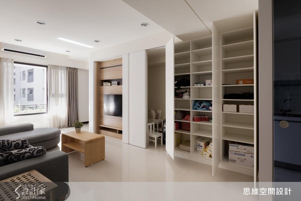 25坪新成屋(5年以下)_簡約風客廳案例圖片_思維空間設計有限公司_思維_18之3