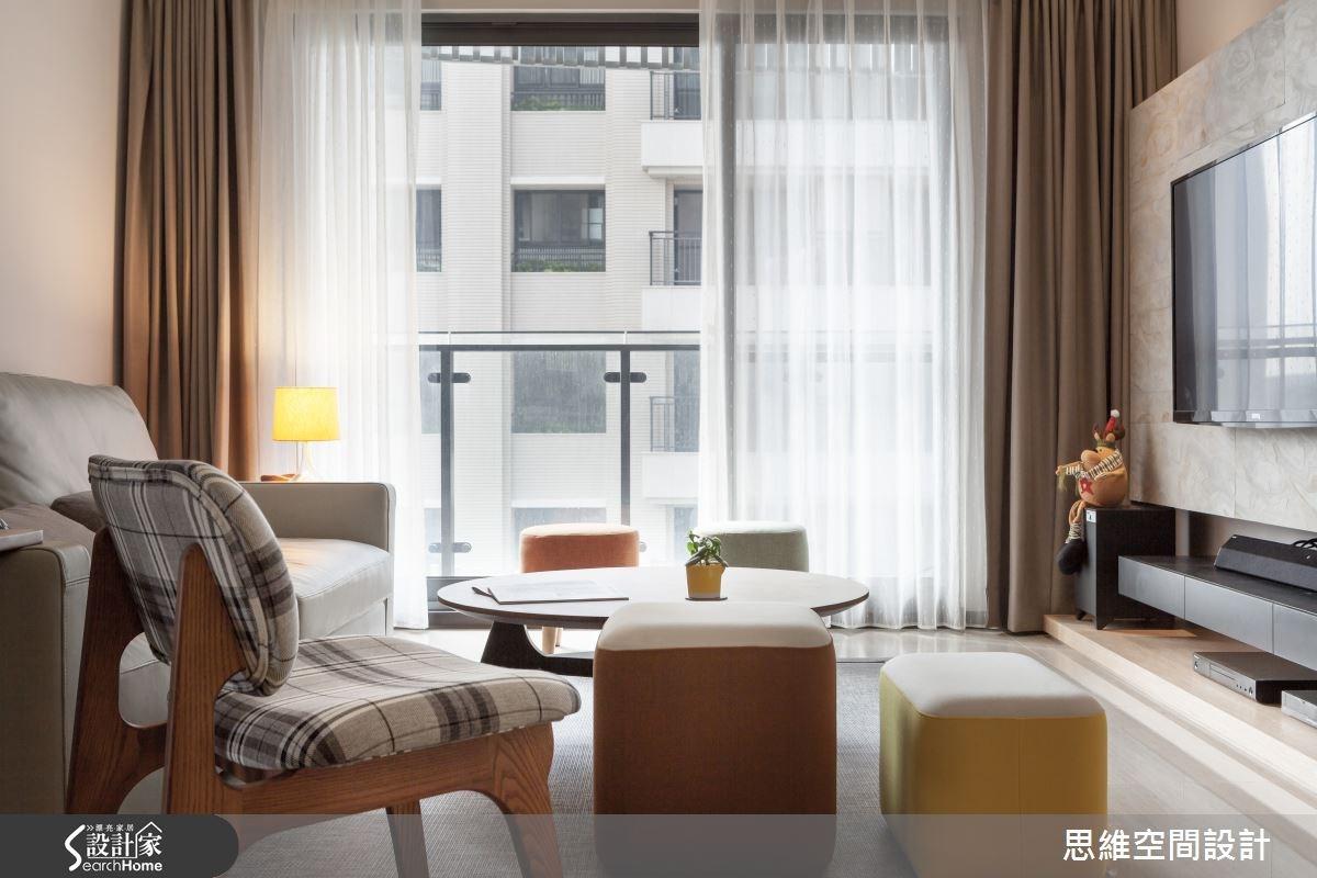 28坪新成屋(5年以下)_北歐風客廳案例圖片_思維空間設計有限公司_思維_19之3