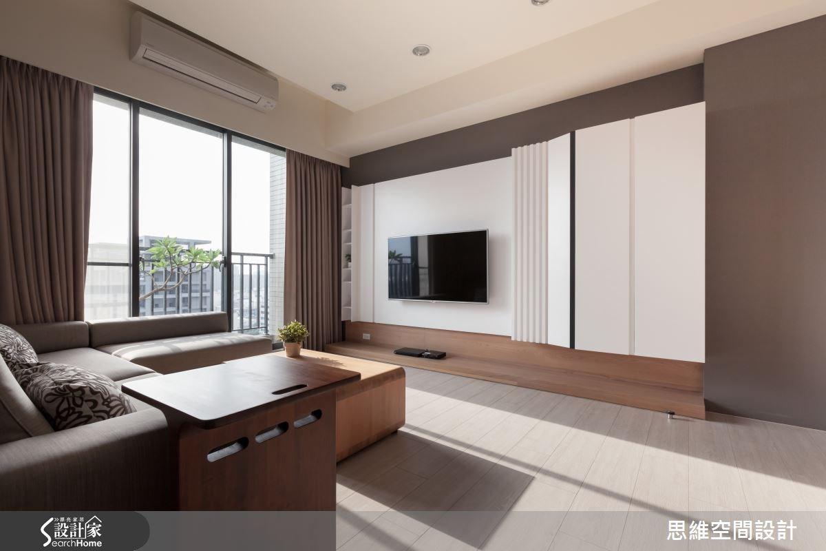24坪新成屋(5年以下)_現代風客廳案例圖片_思維空間設計有限公司_思維_20之1