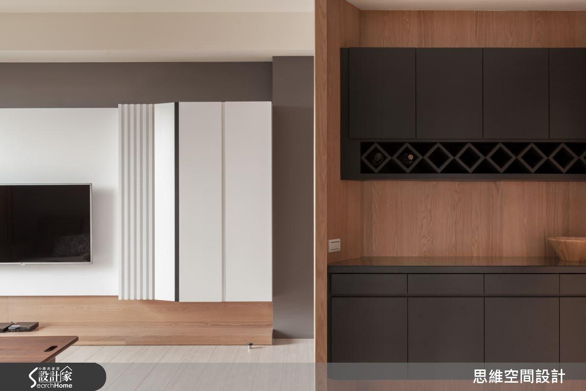 24坪新成屋(5年以下)_現代風客廳案例圖片_思維空間設計有限公司_思維_20之2
