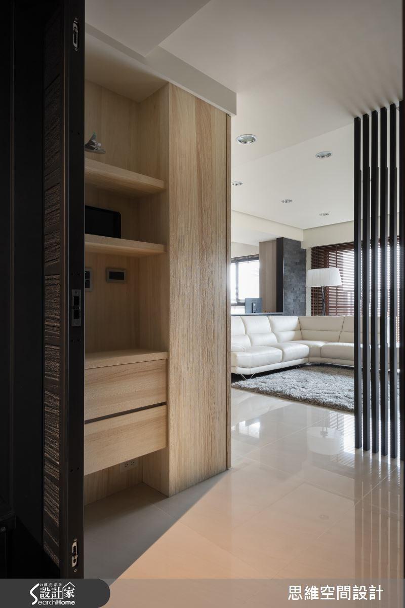 38坪新成屋(5年以下)_現代風玄關客廳案例圖片_思維空間設計有限公司_思維_21之1
