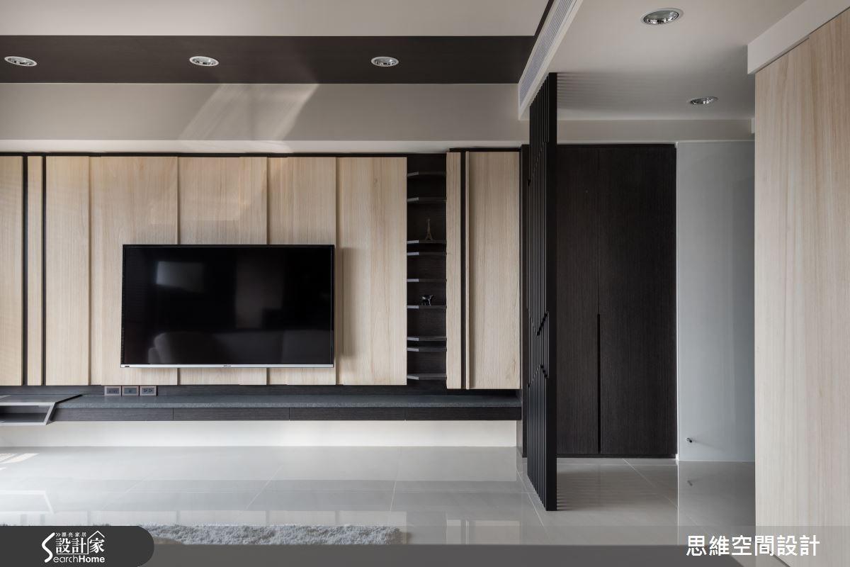 38坪新成屋(5年以下)_現代風玄關客廳案例圖片_思維空間設計有限公司_思維_21之4