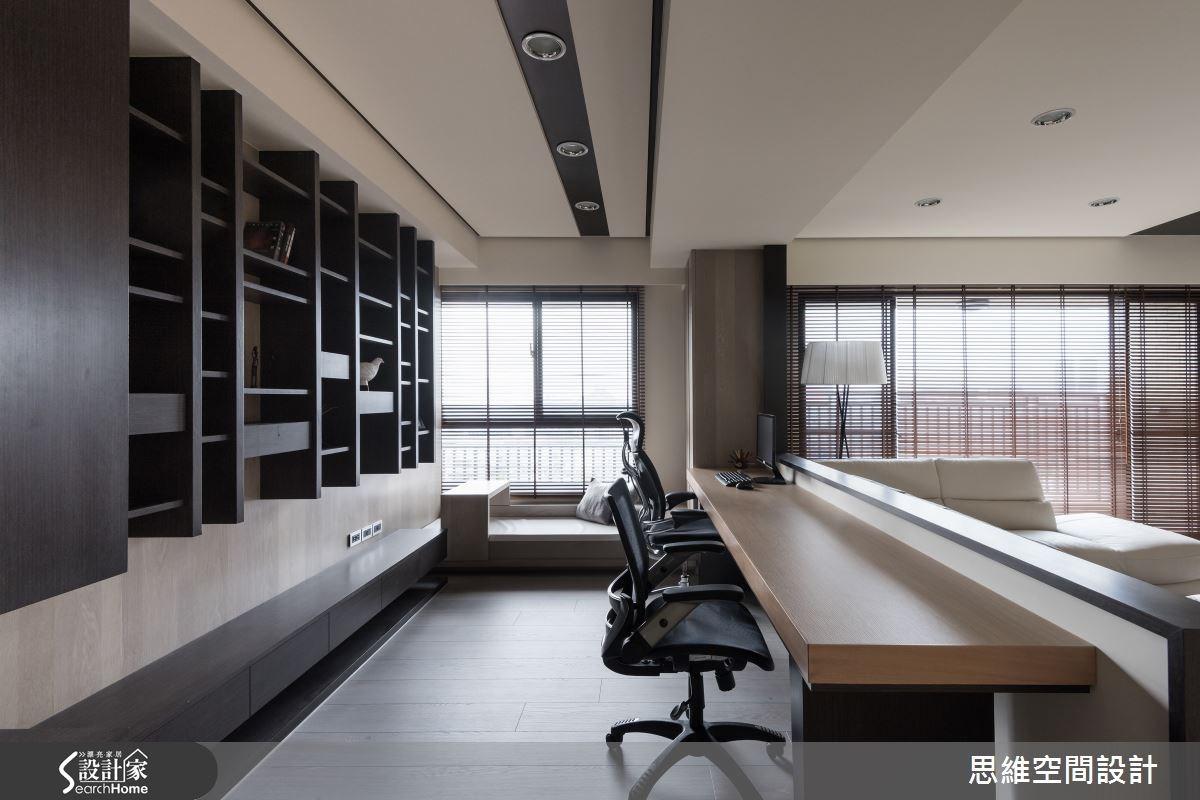 38坪新成屋(5年以下)_現代風客廳書房案例圖片_思維空間設計有限公司_思維_21之5