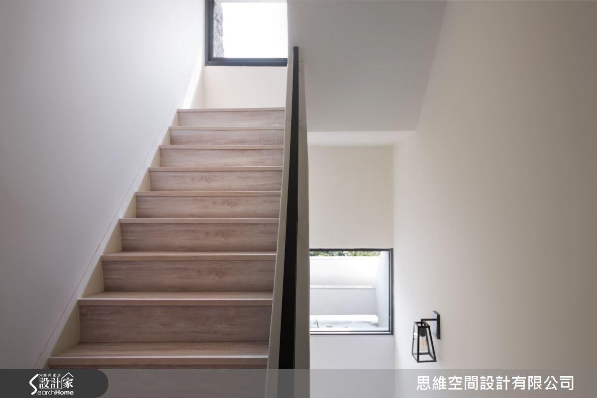 50坪老屋(16~30年)_簡約風樓梯案例圖片_思維空間設計有限公司_思維_22之1