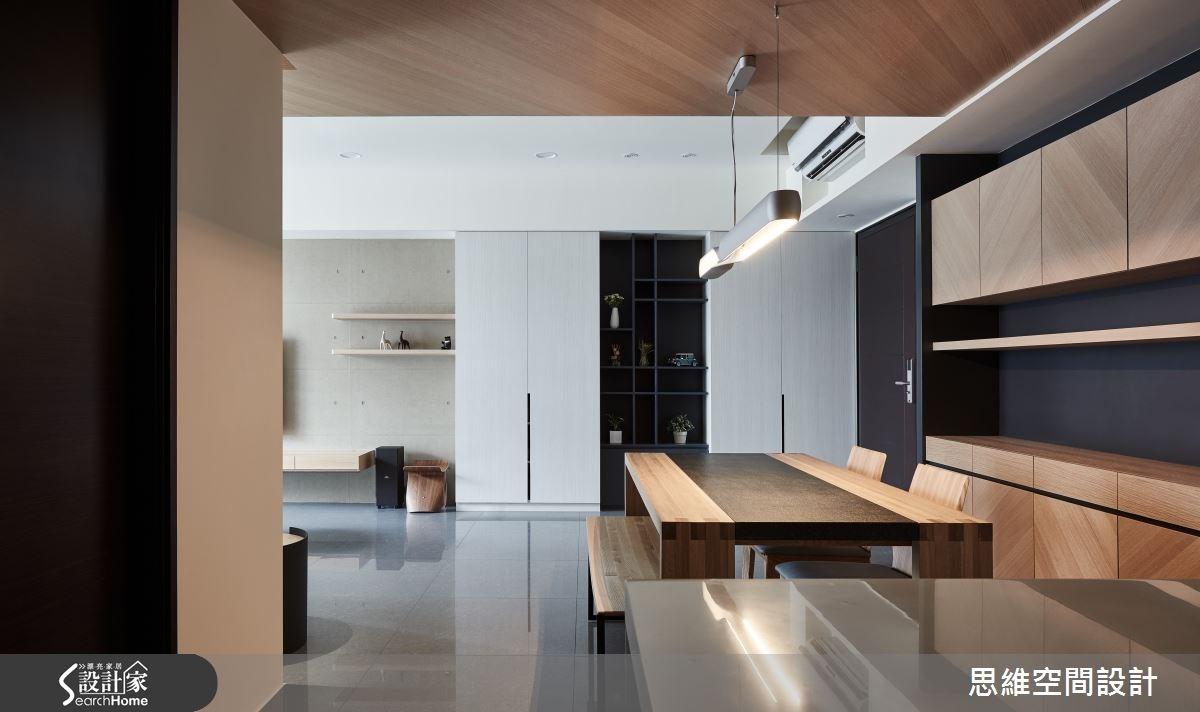 32坪新成屋(5年以下)_簡約風玄關餐廳案例圖片_思維空間設計有限公司_思維_27之11