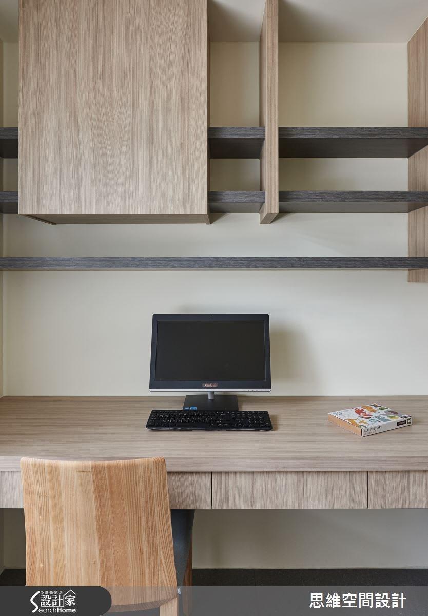 32坪新成屋(5年以下)_簡約風臥室案例圖片_思維空間設計有限公司_思維_27之13
