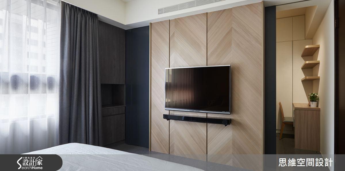 32坪新成屋(5年以下)_簡約風臥室更衣間案例圖片_思維空間設計有限公司_思維_27之16