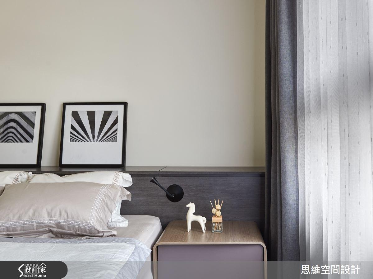 32坪新成屋(5年以下)_簡約風臥室案例圖片_思維空間設計有限公司_思維_27之18