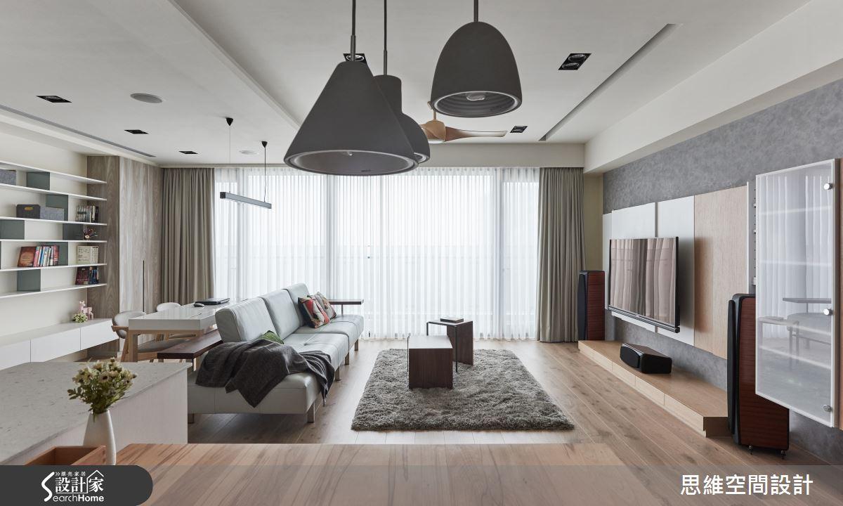 32 坪簡約宅 都會叢林中的溫暖陽光屋