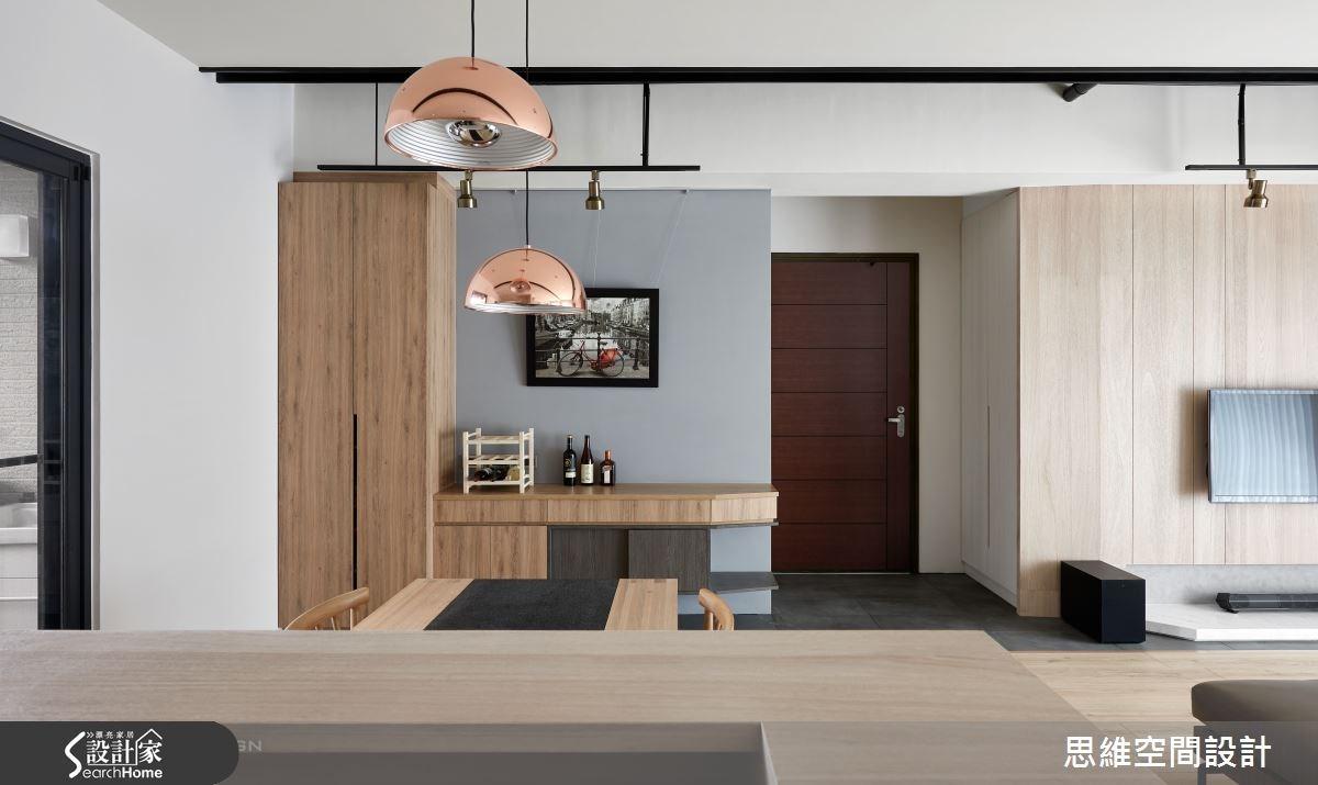32坪新成屋(5年以下)_簡約風玄關餐廳案例圖片_思維空間設計有限公司_思維_30之4