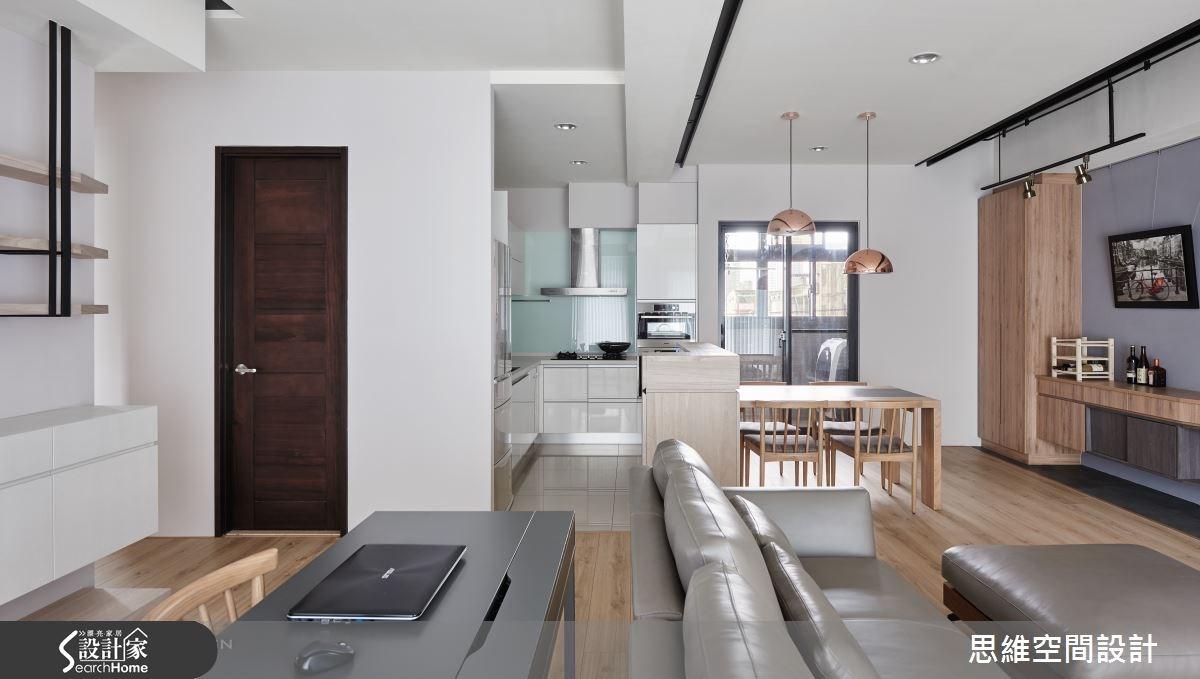 32坪新成屋(5年以下)_簡約風餐廳廚房案例圖片_思維空間設計有限公司_思維_30之5
