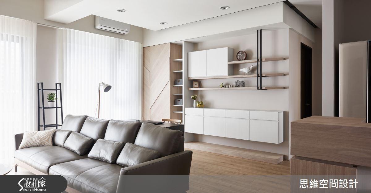 32坪新成屋(5年以下)_簡約風客廳書房案例圖片_思維空間設計有限公司_思維_30之8