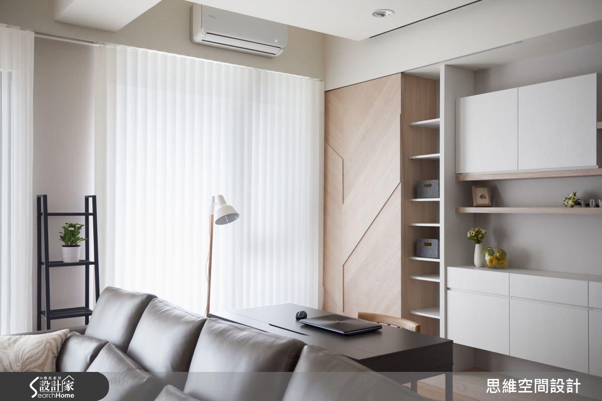 32坪新成屋(5年以下)_簡約風書房案例圖片_思維空間設計有限公司_思維_30之15