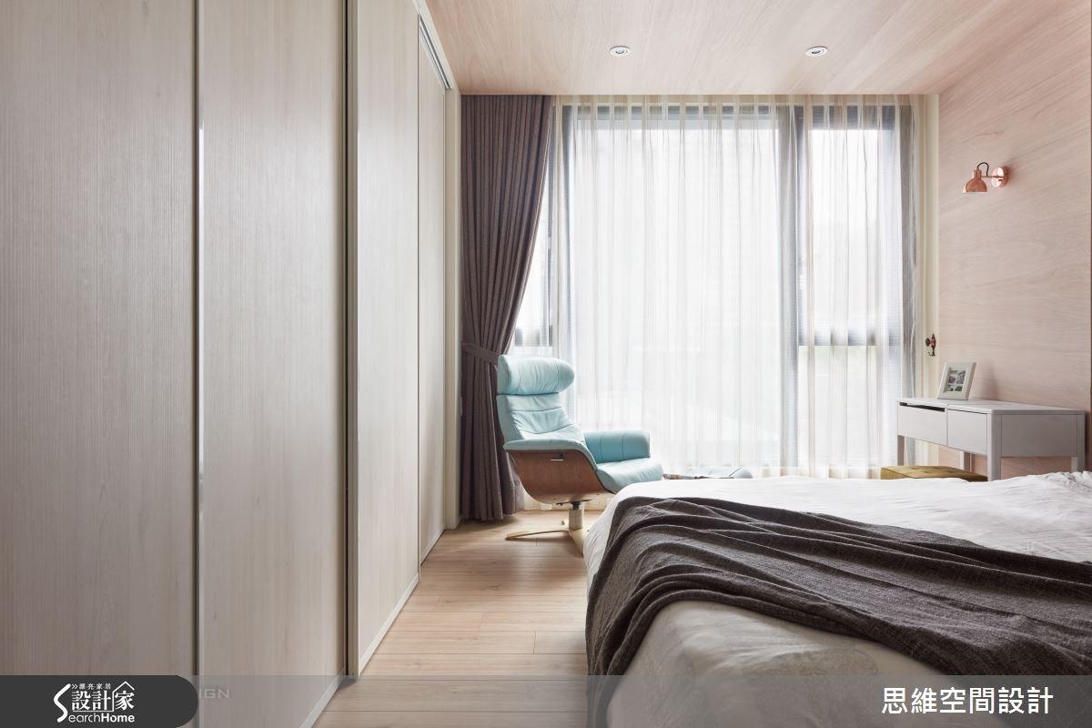 32坪新成屋(5年以下)_簡約風臥室案例圖片_思維空間設計有限公司_思維_30之17