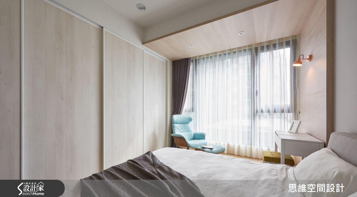 32坪新成屋(5年以下)_簡約風臥室案例圖片_思維空間設計有限公司_思維_30之20