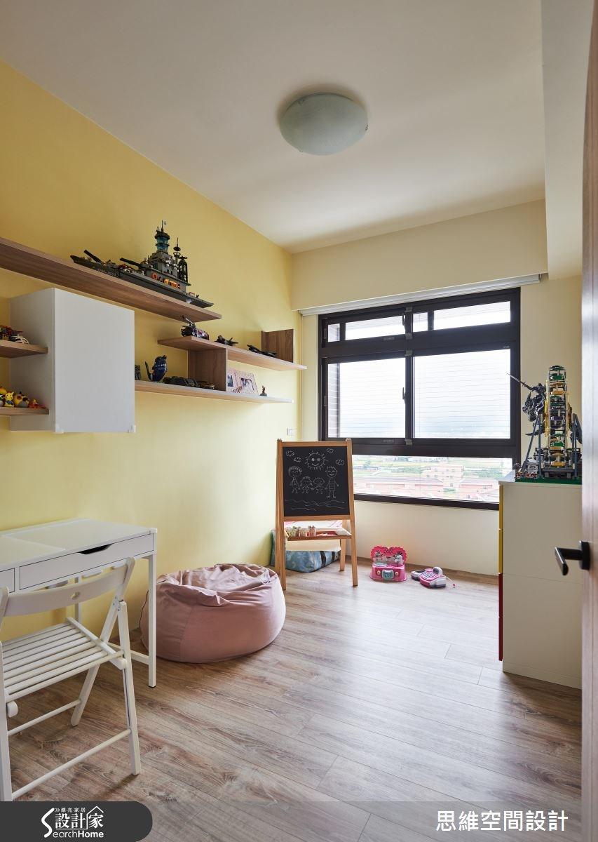 25坪新成屋(5年以下)_現代風臥室兒童房兒童房案例圖片_思維空間設計有限公司_思維_33之20