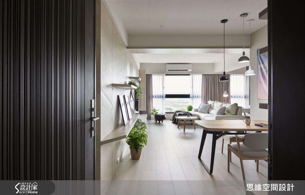 30坪新成屋(5年以下)_現代風客廳案例圖片_思維空間設計有限公司_思維_34之1