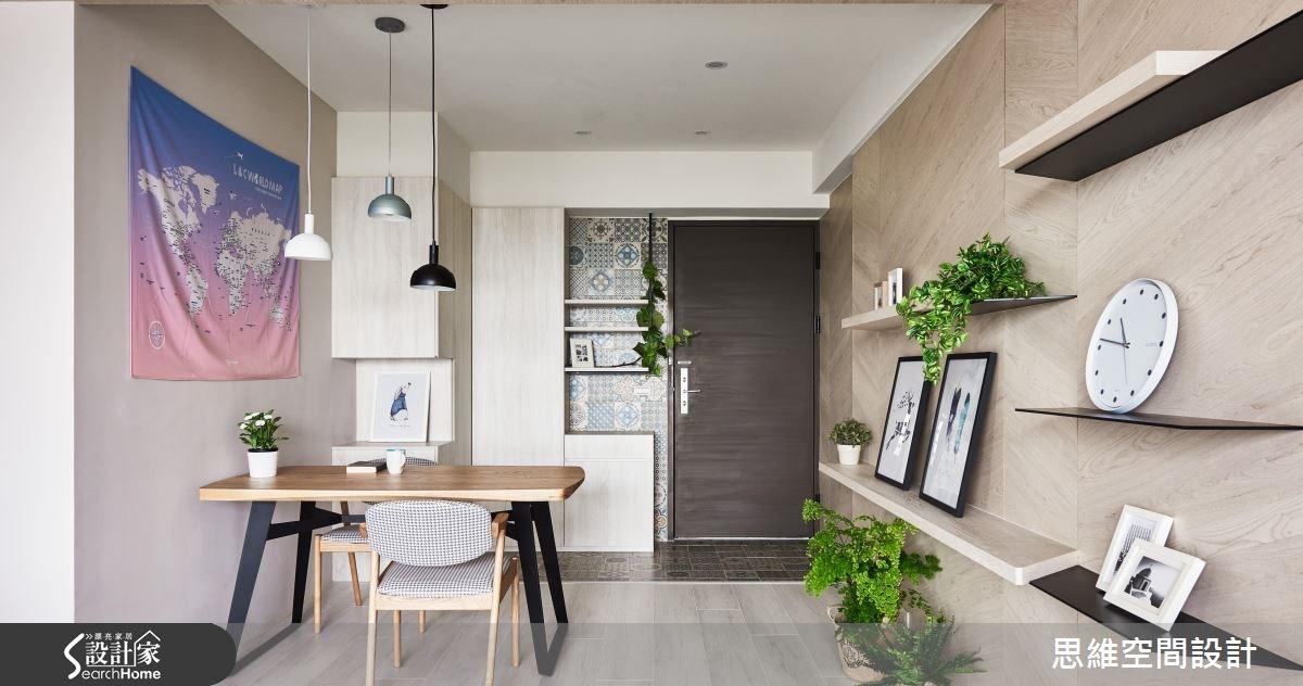 30坪新成屋(5年以下)_現代風玄關餐廳案例圖片_思維空間設計有限公司_思維_34之4