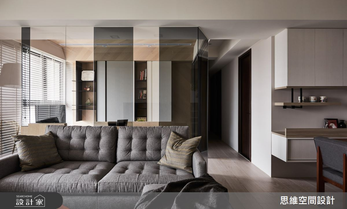 清新木質 X 明亮感提升  28 坪 4 房 2 廳也超 OK!