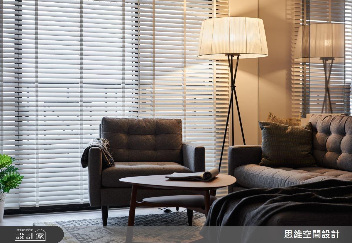 28坪新成屋(5年以下)_現代風客廳案例圖片_思維空間設計有限公司_思維_35之4