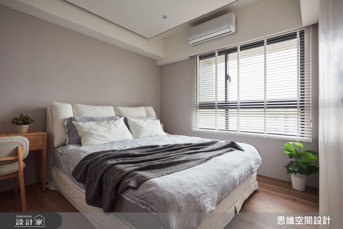 28坪新成屋(5年以下)_現代風臥室案例圖片_思維空間設計有限公司_思維_35之19