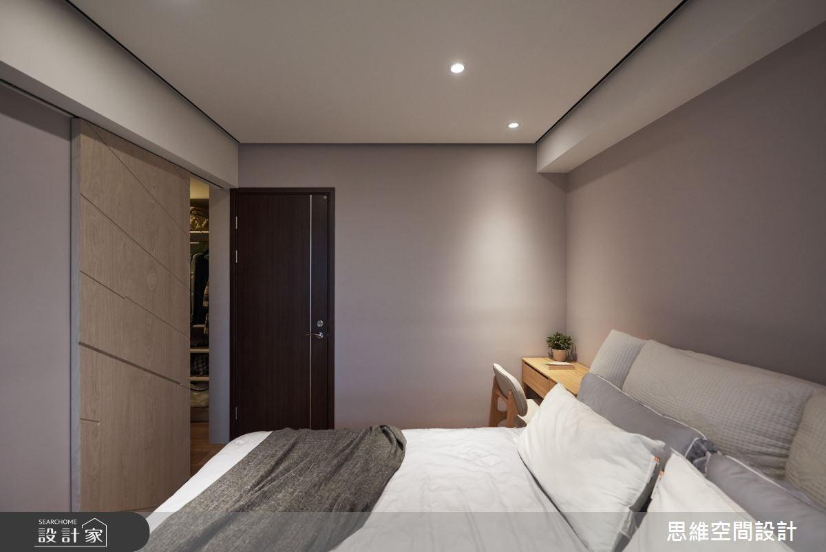 28坪新成屋(5年以下)_現代風臥室更衣間案例圖片_思維空間設計有限公司_思維_35之20