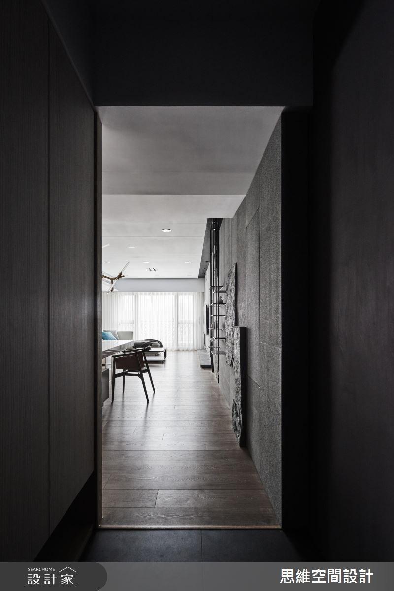 36坪新成屋(5年以下)_現代風玄關案例圖片_思維空間設計有限公司_思維_36之1