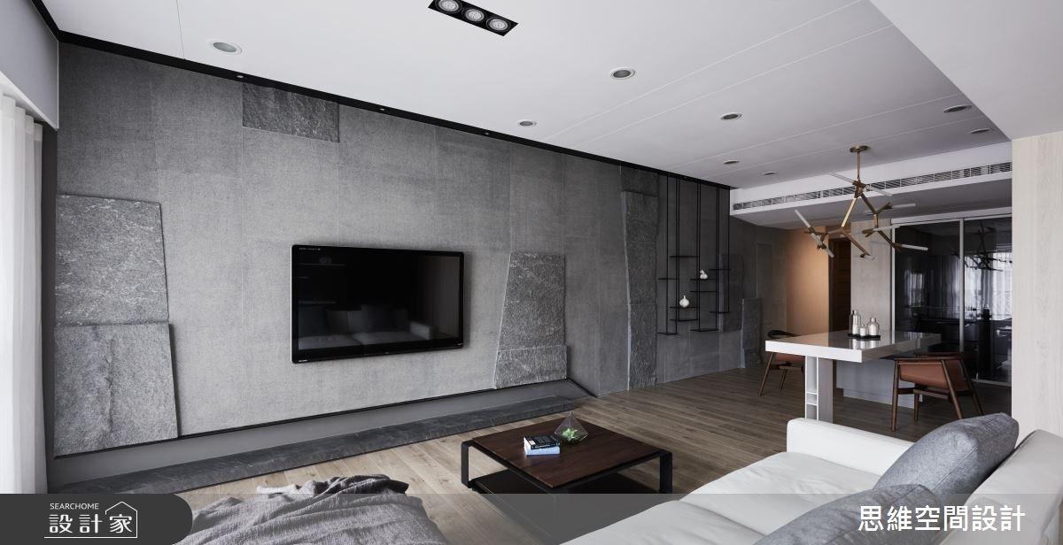 36坪新成屋(5年以下)_現代風客廳餐廳案例圖片_思維空間設計有限公司_思維_36之3