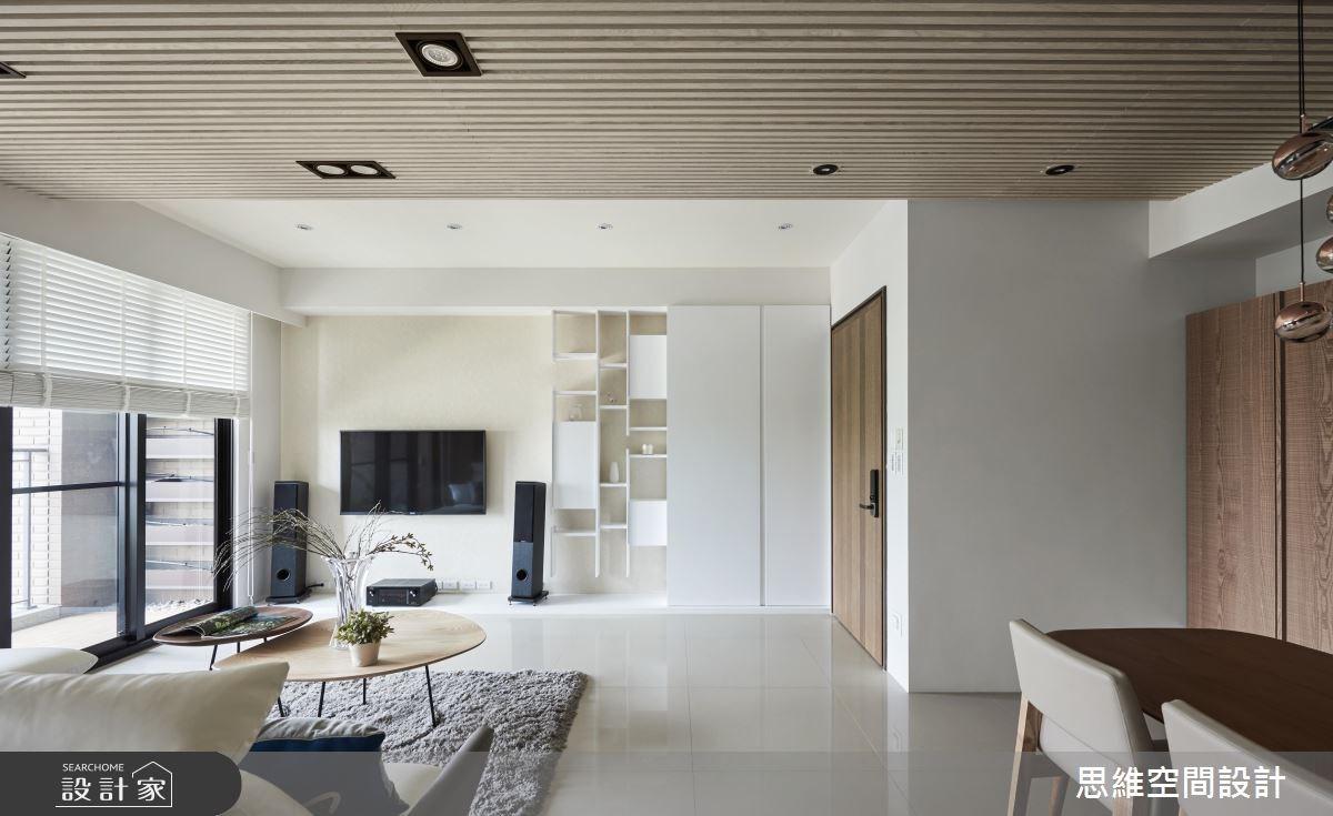 28坪新成屋(5年以下)_現代風玄關客廳案例圖片_思維空間設計有限公司_思維_37之1
