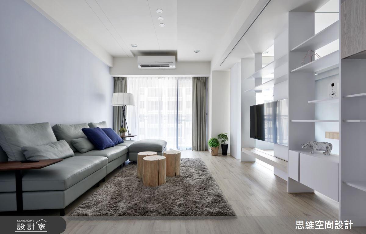 30坪新成屋(5年以下)_現代風客廳案例圖片_思維空間設計有限公司_思維_38之2