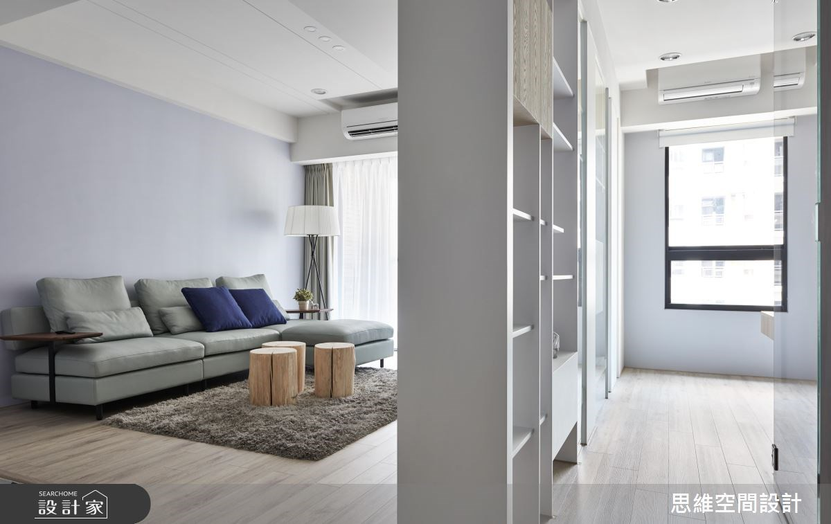 30坪新成屋(5年以下)_現代風客廳書房案例圖片_思維空間設計有限公司_思維_38之3