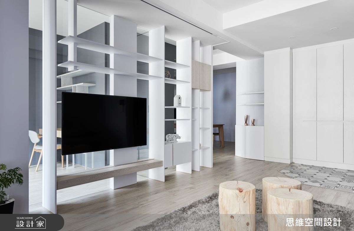 30坪新成屋(5年以下)_現代風客廳書房案例圖片_思維空間設計有限公司_思維_38之4