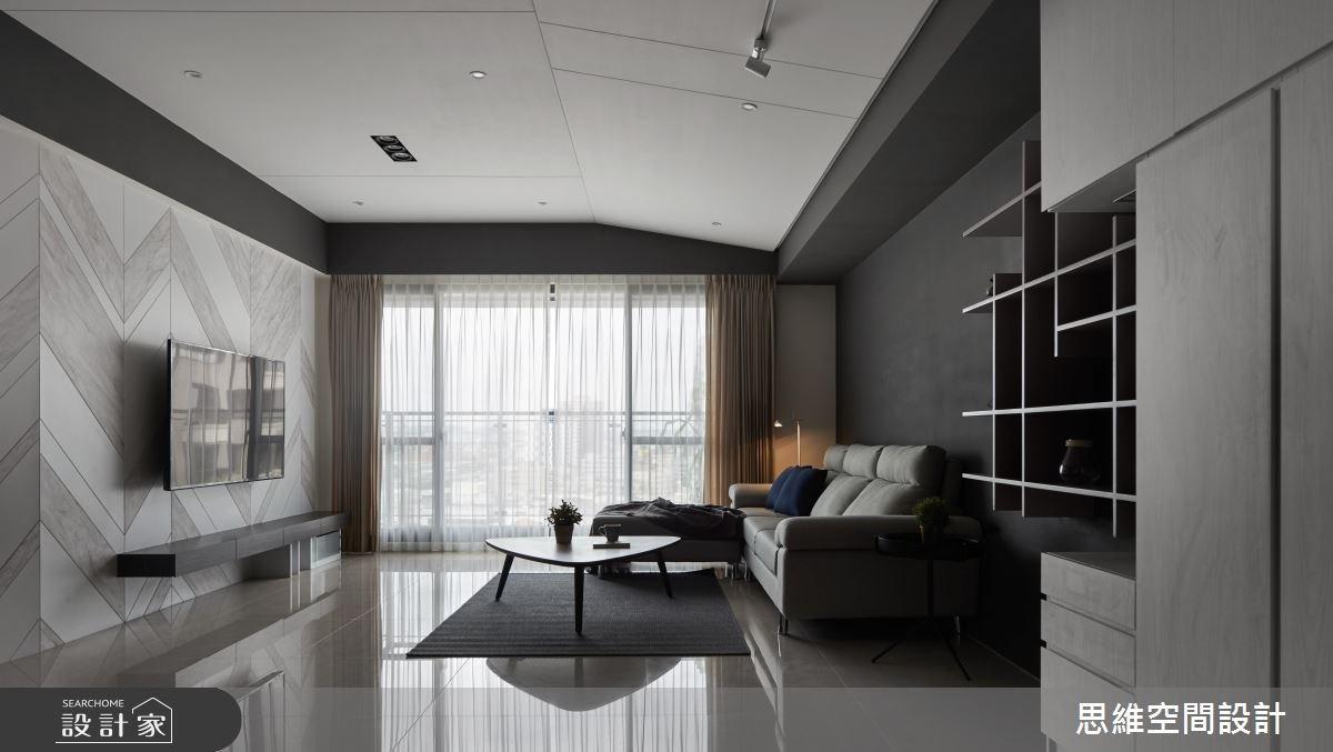 33坪新成屋(5年以下)_現代風客廳案例圖片_思維空間設計有限公司_思維_40之3