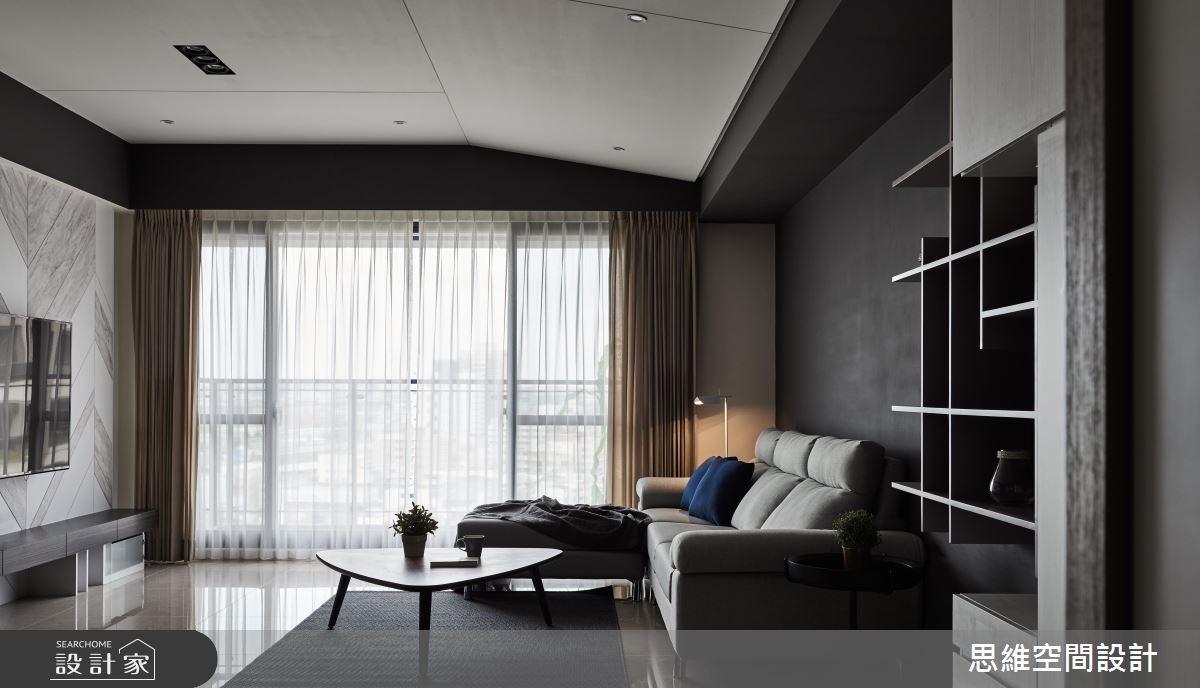 33坪新成屋(5年以下)_現代風客廳案例圖片_思維空間設計有限公司_思維_40之4