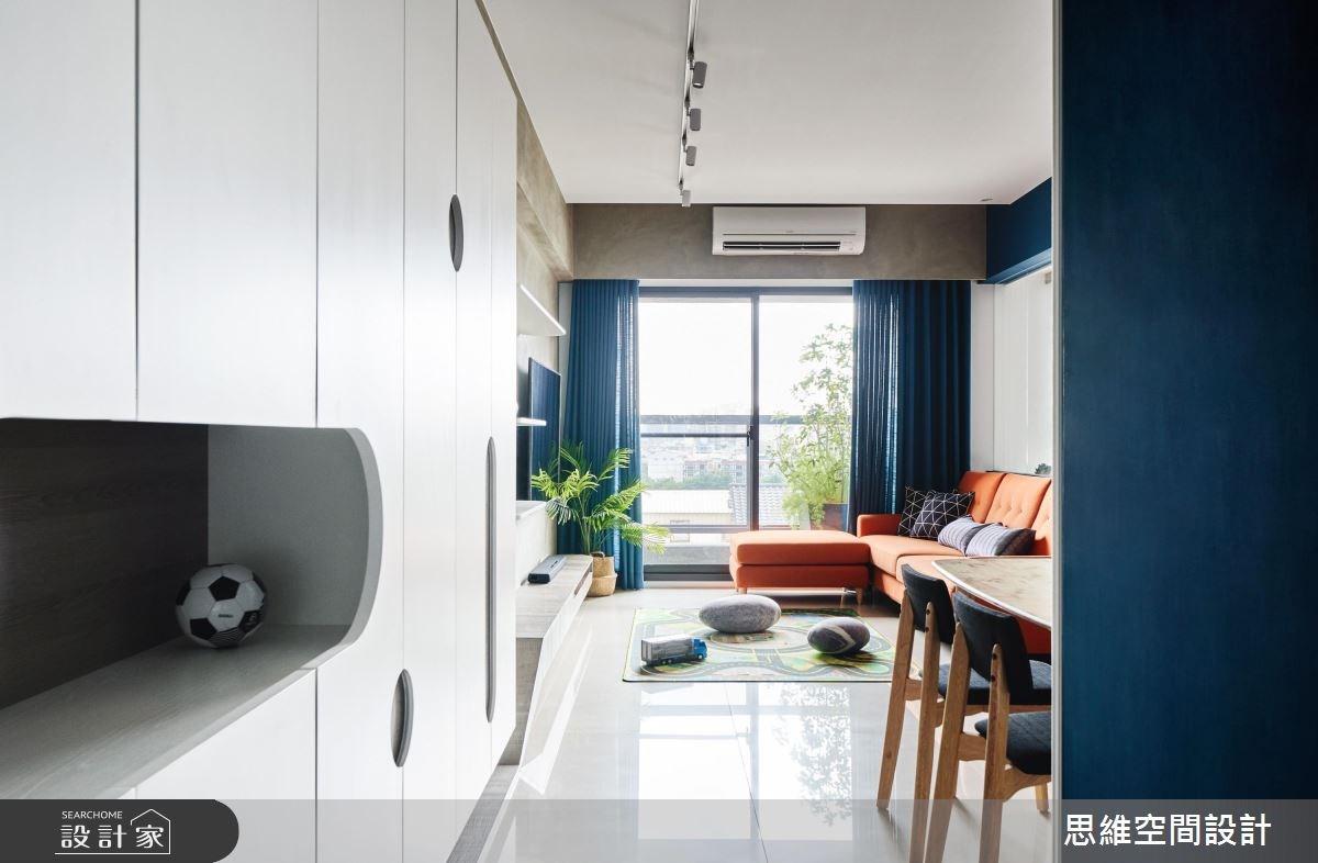 22坪新成屋(5年以下)_現代風案例圖片_思維空間設計有限公司_思維_44之1