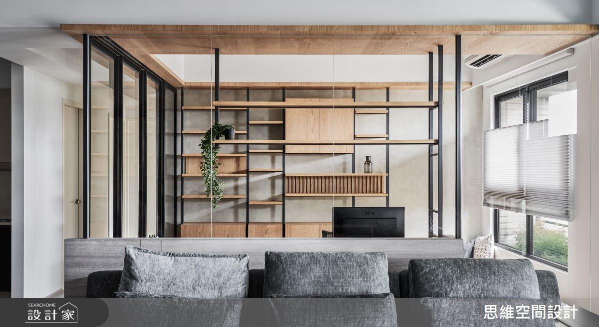 31坪新成屋(5年以下)_現代風案例圖片_思維空間設計有限公司_思維_45之5