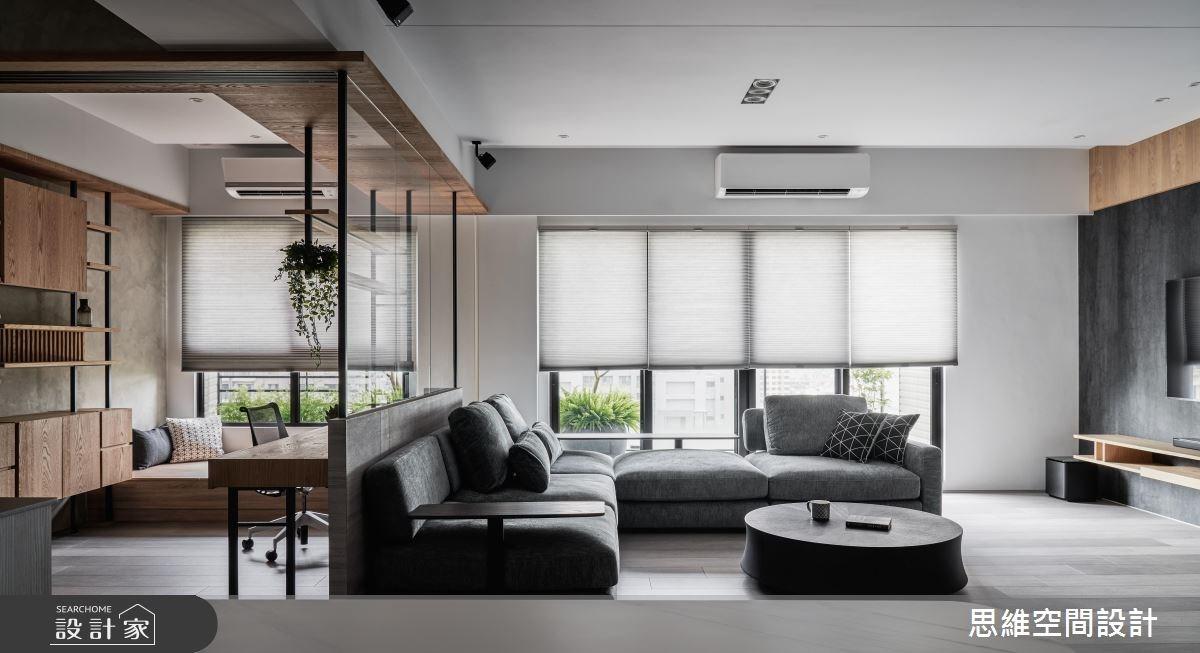 31坪新成屋(5年以下)_現代風案例圖片_思維空間設計有限公司_思維_45之15