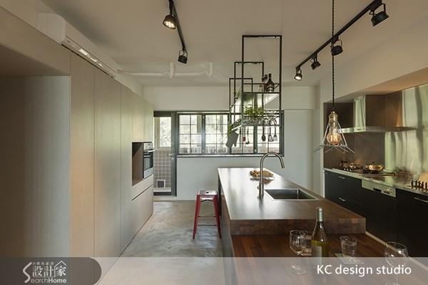 35坪老屋(16~30年)_工業風餐廳廚房案例圖片_KC design studio 均漢設計_KC_01之7