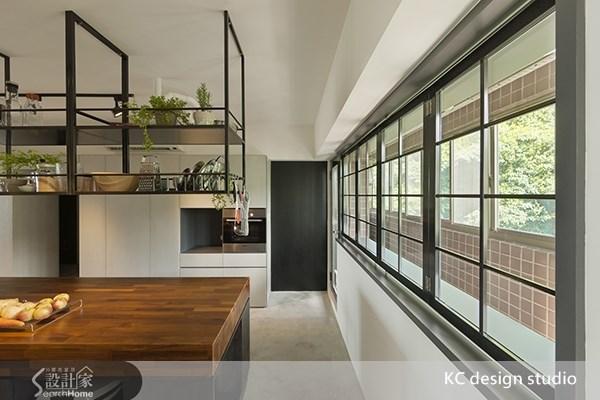 35坪老屋(16~30年)_工業風餐廳走廊案例圖片_KC design studio 均漢設計_KC_01之8