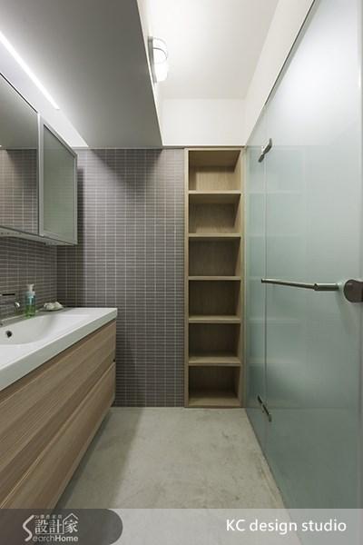 35坪老屋(16~30年)_工業風浴室案例圖片_KC design studio 均漢設計_KC_01之11