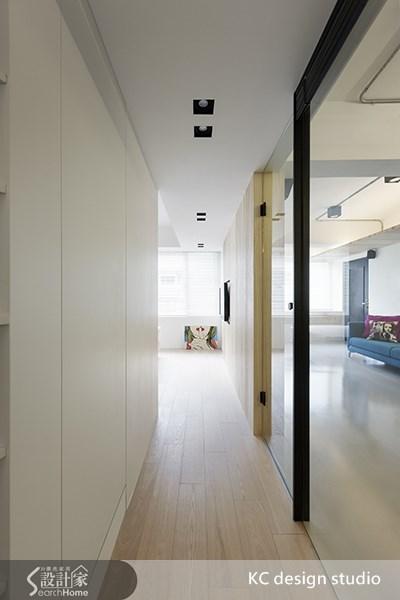 20坪中古屋(5~15年)_北歐風走廊案例圖片_KC design studio 均漢設計_KC_02之8