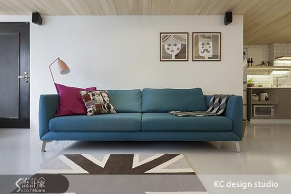 20坪中古屋(5~15年)_北歐風客廳案例圖片_KC design studio 均漢設計_KC_02之3